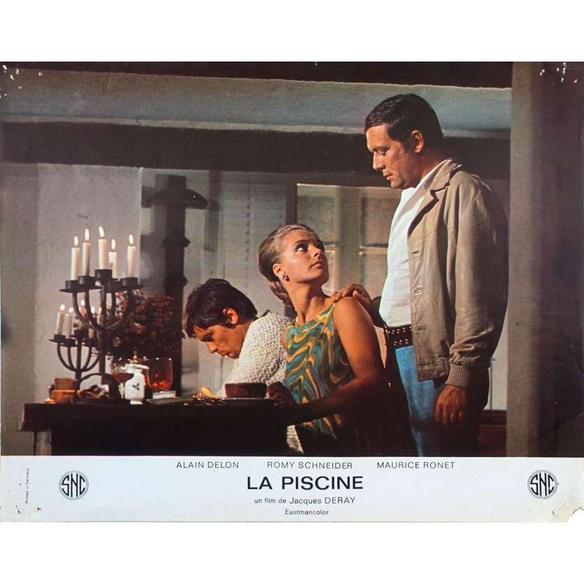 LA PISCINE Photo de film N01 - 21x30 cm. - 1969 - Alain Delon, Romy Schneider, Jacques Deray