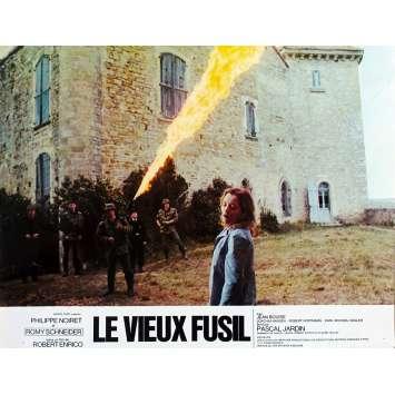 LE VIEUX FUSIL Photo de film N01 - 21x30 cm. - 1976 - Romy Schneider, Robert Enrico