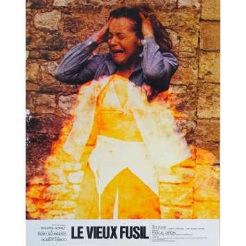 LE VIEUX FUSIL Photo de film N02 - 21x30 cm. - 1976 - Romy Schneider, Robert Enrico
