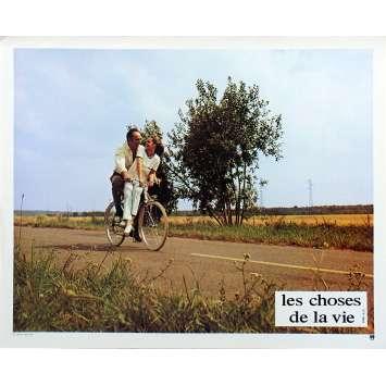 LES CHOSES DE LA VIE Photo de film N02 - 21x30 cm. - 1970 - Romy Schneider, Claude Sautet