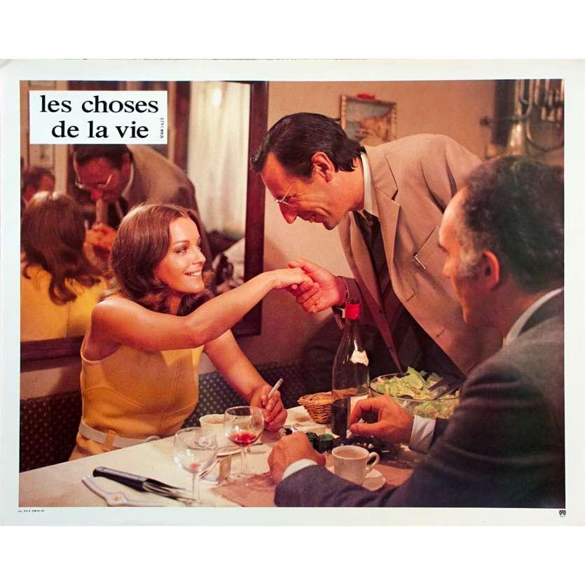 LES CHOSES DE LA VIE Photo de film N06 - 21x30 cm. - 1970 - Romy Schneider, Claude Sautet