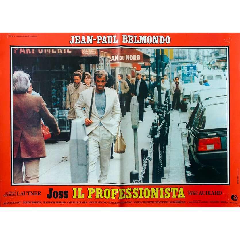 LE PROFESSIONNEL Photobusta N1 - 46x64 cm. - 1981 - Jean-Paul Belmondo, Georges Lautner