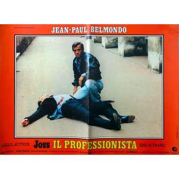 LE PROFESSIONNEL Photobusta N2- 46x64 cm. - 1981 - Jean-Paul Belmondo, Georges Lautner