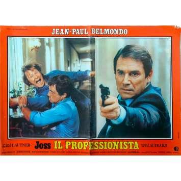 LE PROFESSIONNEL Photobusta N5 - 46x64 cm. - 1981 - Jean-Paul Belmondo, Georges Lautner