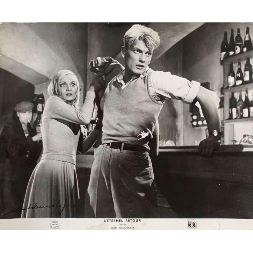 L'ETERNEL RETOUR Photo signée par Madeleine Sologne N02 - 24x30 cm. - 1943 - Jean Marais