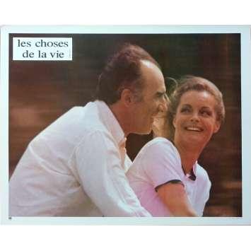 LES CHOSES DE LA VIE Photo de film N03 - 21x30 cm. - 1970 - Romy Schneider, Claude Sautet