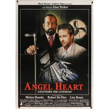 ANGEL HEART Affiche de film - 100x140 cm. - 1987 - Robert de Niro, Alan Parker