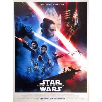 STAR WARS - THE RISE OF SKYWALKER IX 9 Original Movie Poster Def. - 15x21 in. - 2019 - J.J. Abrams, Daisy Ridley
