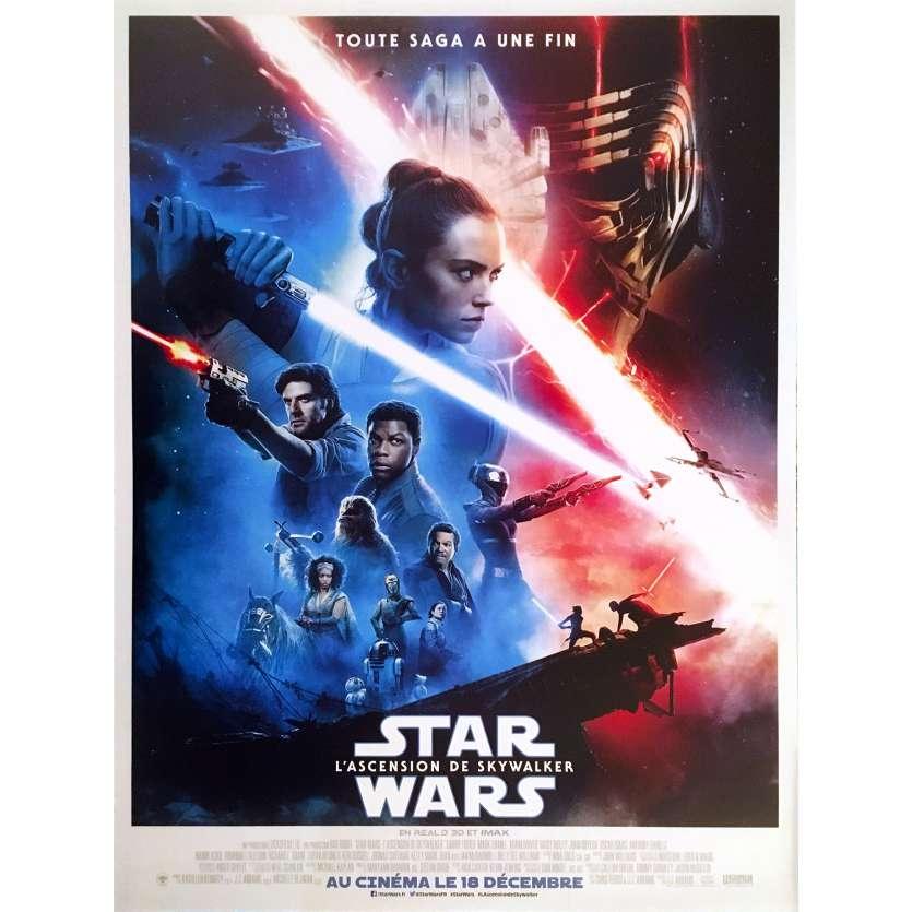 STAR WARS - THE RISE OF SKYWALKER IX 9 Original Movie Poster Def. - 15x21 in. - 2019 - J.J. Abrams, Daisy Ridley