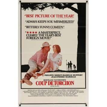 COUP DE TORCHON Affiche de film - 69x102 cm. - 1981 - Philippe Noiret, Bertrand Tavernier