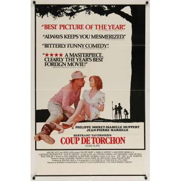 COUP DE TORCHON US Movie Poster - 27x40 in. - 1981 - Bertrand Tavernier, Philippe Noiret