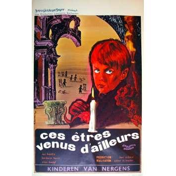 CES ETRES VENUS D'AILLEURS Affiche de film 35x55 - 1964 - Ian Hendry, Anton M. Leader