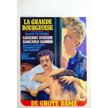 THE MURRI AFFAIR Belgian Movie Poster 14x21 - 1974 - Mauro Bolognini, Catherine Deneuve