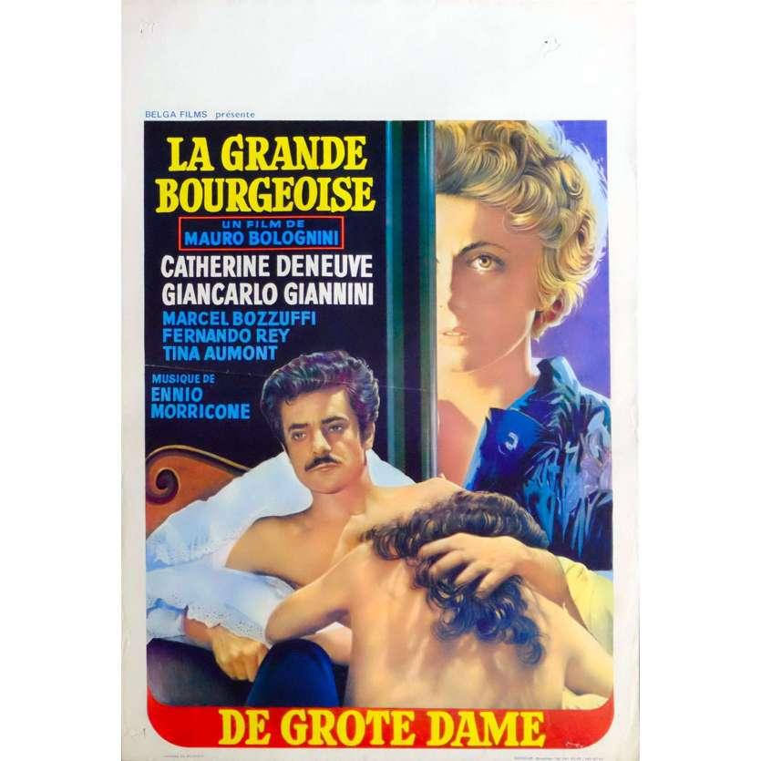 THE MURRI AFFAIR Belgian Movie Poster 14x21 - 1974 - Mauro Bolognini, Catherine Deneuve