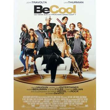 BE COOL Original Movie Poster - 15x21 in. - 2005 - F. Gary Gray, John Travolta