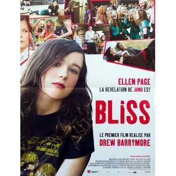WHIP IT Original Movie Poster - 15x21 in. - 2009 - Drew Barrymore, Ellen Page