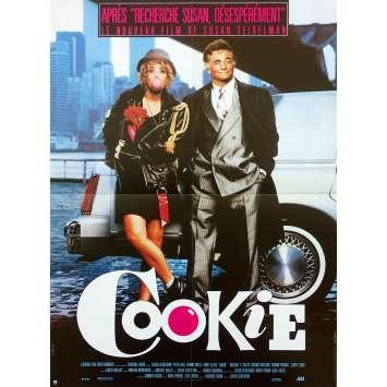 COOKIE Original Movie Poster - 15x21 in. - 1989 - Susan Seidelman, Peter Falk, Emily Lloyd