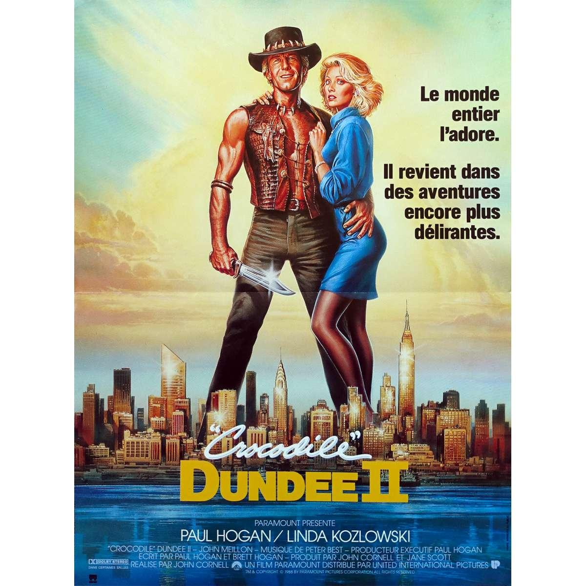 Crocodile Dundee Ii Movie Poster 15x21 In