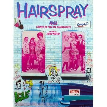 HAIRSPRAY Affiche de film - 40x60 cm. - 1988 - Sonny Bono, John Waters
