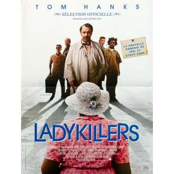 THE LADYKILLERS Original Movie Poster - 15x21 in. - 2004 - Joel Coen, Tom Hanks