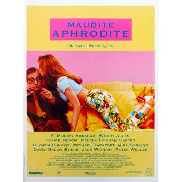 MAUDITE APHRODITE Original Movie Poster - 15x21 in. - 1995 - Woody Allen, Mira Sorvino