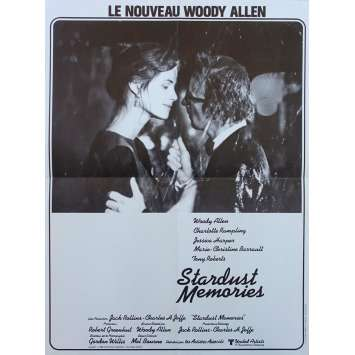 STARDUST MEMORIES Original Movie Poster - 15x21 in. - 1980 - Woody Allen, Charlotte Rampling