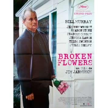 BROKEN FLOWERS Original Movie Poster - 47x63 in. - 2005 - Jim Jarmusch, Bill Murray