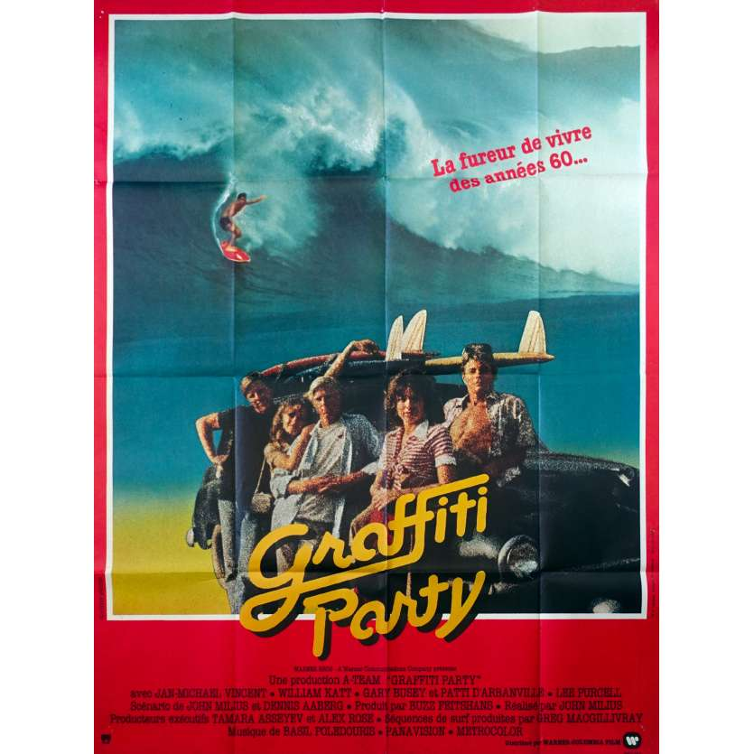 BID Wednesday Original Movie Poster - 47x63 in. - 1978 - John Milius, Surf Movie