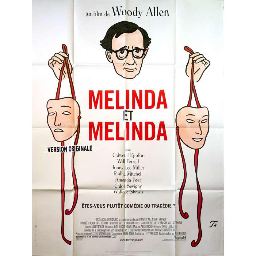 MELINDA ET MELINDA Affiche de film - 120x160 cm. - 2004 - Will Ferell, Woody Allen