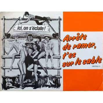 ARRETE DE RAMER T'ES SUR LE SABLE Synopsis - 21x30 cm. - 1979 - Bill Murray, Ivan Reitman