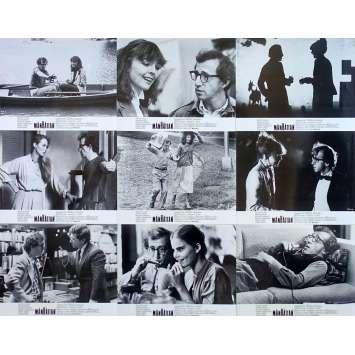 MANHATTAN Photos de film x13 - 21x30 cm. - 1979 - Diane Keaton, Woody Allen