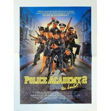 POLICE ACADEMY 2 Synopsis - 21x30 cm. - 1985 - Steve Guttenberg, Jerry Paris