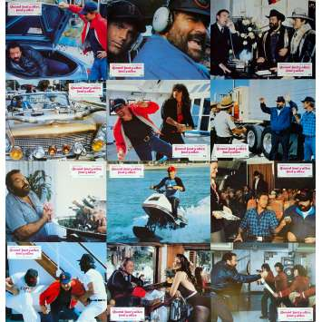 QUAND FAUT Y ALLER FAUT Y ALLER Photos de film x12 - 21x30 cm. - 1983 - Terence Hill, Bud Spencer, Enzo Barboni