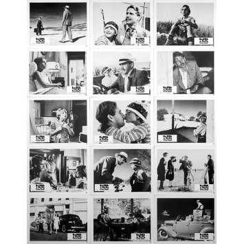 PAPER MOON Original Lobby Cards x15 - 10x12 in. - 1973 - Peter Bogdanovich, Ryan O'Neil