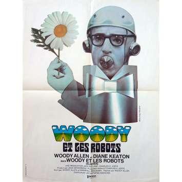 WOODY ET LES ROBOTS Affiche de film - 60x80 cm. - 1973 - Diane Keaton, Woody Allen