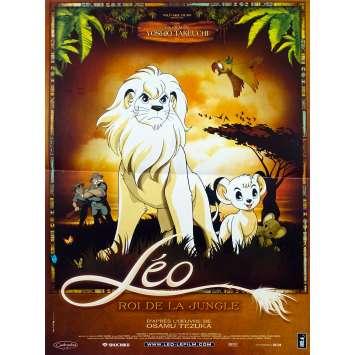 LEO ROI DE LA JUNGLE Affiche de film - 40x60 cm. - 1997 - Masane Tsukayama, Yoshio Takeuchi