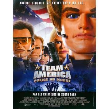 TEAM AMERICA Affiche de film - 40x60 cm. - 2004 - Matt Stone, Trey Parker