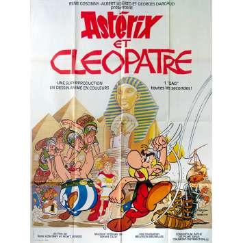 ASTERIX ET CLEOPATRE Affiche de film - 120x160 cm. - 1968 - Roger Carel, René Goscinny, Albert Uderzo