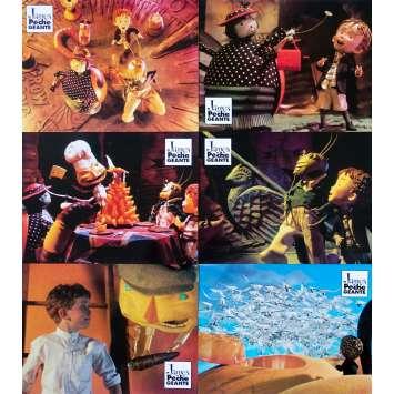 JAMES ET LA PECHE GEANTE Photos de film x6 - 21x30 cm. - 1996 - Joanna Lumley, Henry Selick