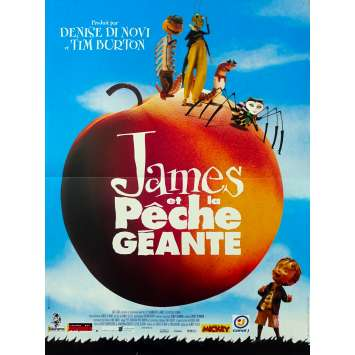 JAMES AND THE GIANT PEACH Original Movie Poster - 15x21 in. - 1996 - Henry Selick, Joanna Lumley