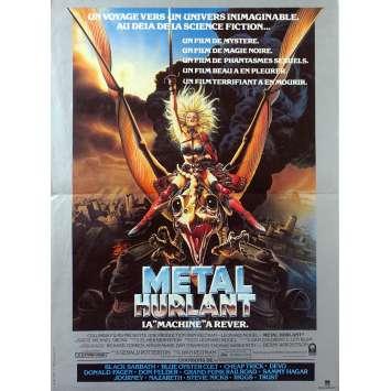 METAL HURLANT Affiche de film - 40x60 cm. - 1981 - John Candy, Gerald Potterton