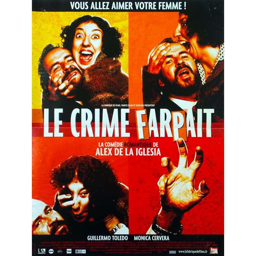 LE CRIME FARPAIT Affiche de film - 40x60 cm. - 2004 - Guillermo Toledo, Álex de la Iglesia
