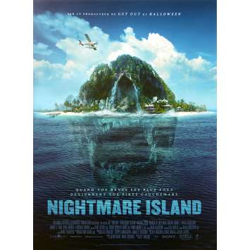 NIGHTMARE ISLAND Affiche de film - 40x60 cm. - 2020 - Maggie Q, Michael Peña, Jeff Wadlow