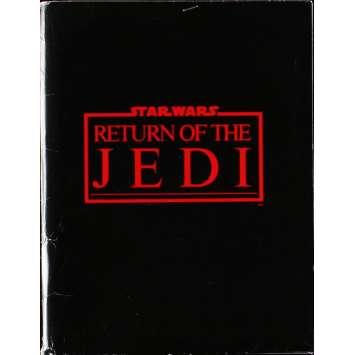 STAR WARS - LE RETOUR DU JEDI Presskit - 20x25 cm. - 1983 - Harrison Ford, Richard Marquand