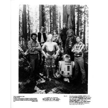 STAR WARS - THE RETURN OF THE JEDI Original Movie Still ROJ-16 - 8x10 in. - 1983 - Richard Marquand, Harrison Ford
