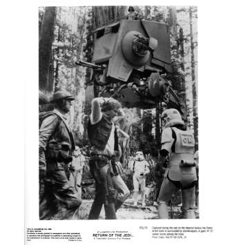 STAR WARS - LE RETOUR DU JEDI Photo de presse ROJ-15 - 20x25 cm. - 1983 - Harrison Ford, Richard Marquand