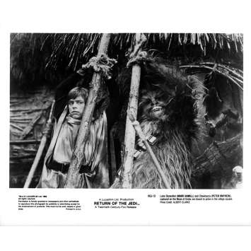 STAR WARS - LE RETOUR DU JEDI Photo de presse ROJ-13 - 20x25 cm. - 1983 - Harrison Ford, Richard Marquand