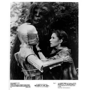 STAR WARS - THE RETURN OF THE JEDI Original Movie Still ROJ-11 - 8x10 in. - 1983 - Richard Marquand, Harrison Ford