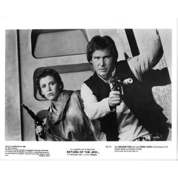 STAR WARS - THE RETURN OF THE JEDI Original Movie Still ROJ-10 - 8x10 in. - 1983 - Richard Marquand, Harrison Ford