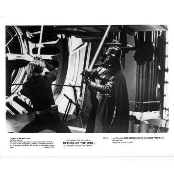 STAR WARS - THE RETURN OF THE JEDI Original Movie Still ROJ-8 - 8x10 in. - 1983 - Richard Marquand, Harrison Ford